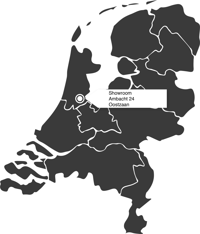 Lokatie showroom Oostzaan